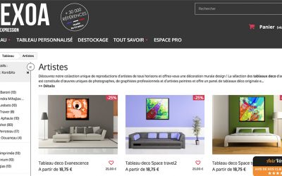Tableaux KONI&ko creation en vente sur HEXOA.FR